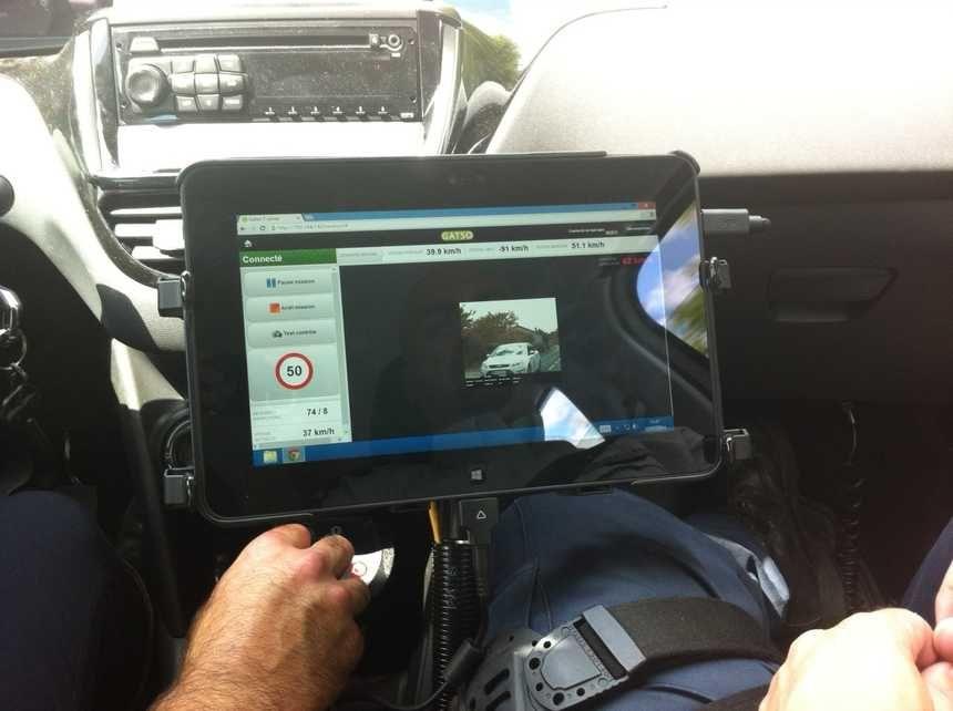 Jusqu'à maintenant les voitures radars banalisées du Périgord étaient toutes pilotées par des gendarmes et des policiers