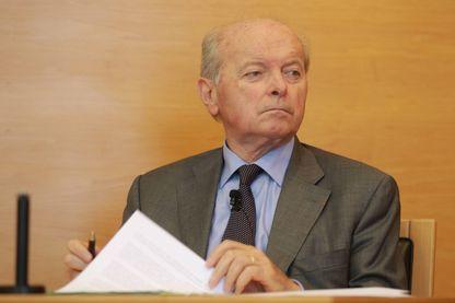 Jacques Toubon, Défenseur des droits depuis le 17 juillet 2014, en visite au tribunal de Bordeaux le 28 septembre 2016