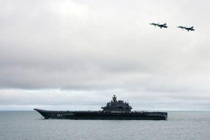 Le porte-avions russe Admiral Kuzhetsov