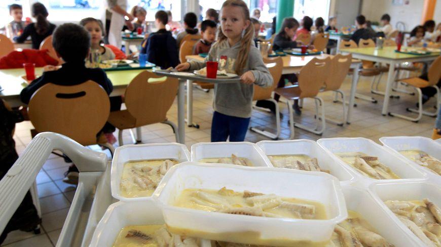 Des parents d'élèves protestent contre l'utilisation de barquettes plastiques pour réchauffer les plats dans les cantines des écoles