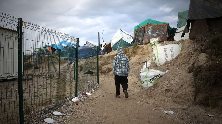 Migrants de Calais (illustration)