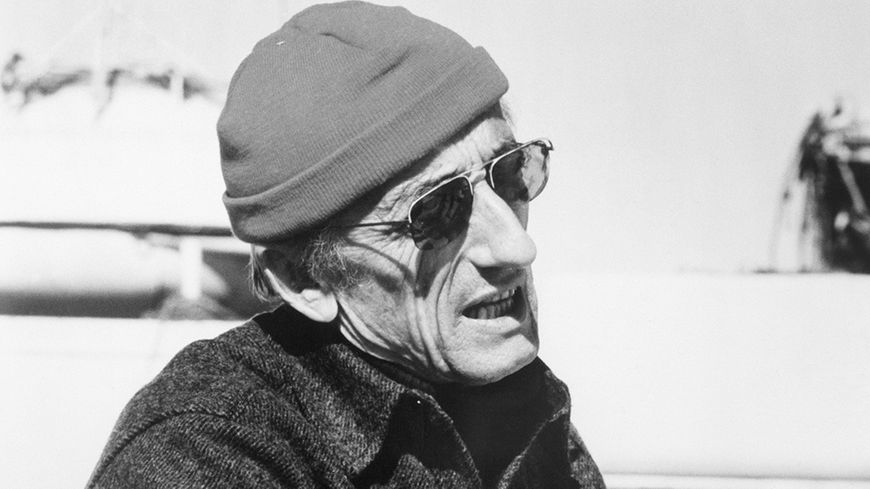 Jacques-Yves Cousteau en 1974