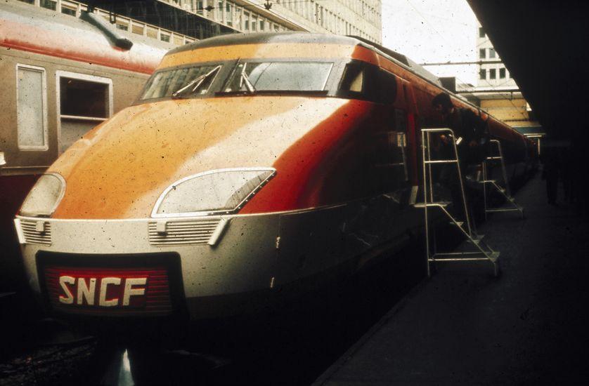des trains SNCF dans les années 1980