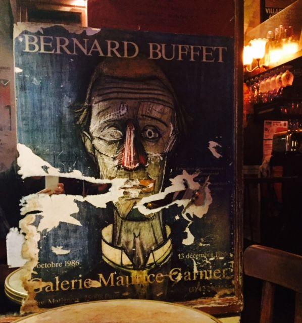 A la rétrospective Bernard Buffet