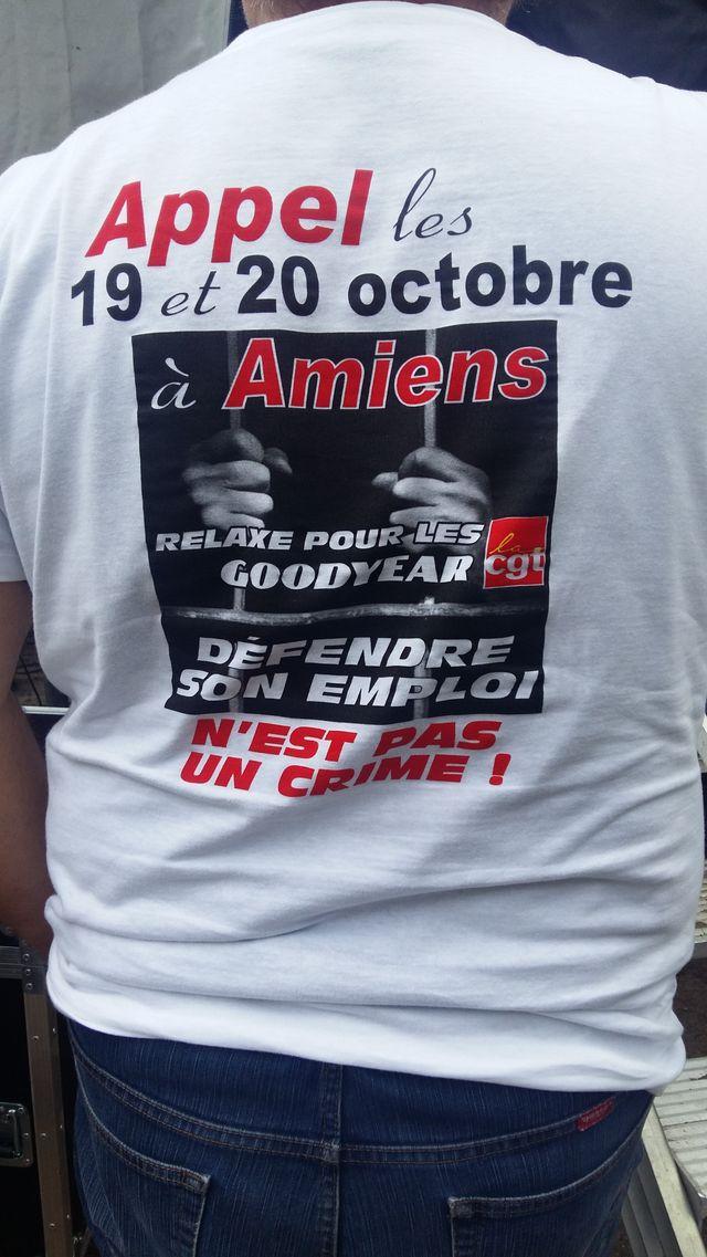 T-shirt pour soutenir les Goodyear
