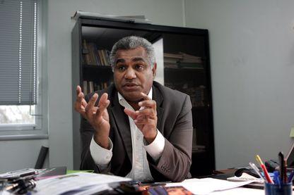 Le journaliste neo-caledonien Walles Kotra, 2006