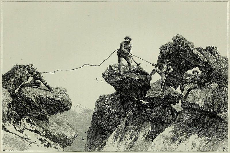 Scrambles amongst the Alps