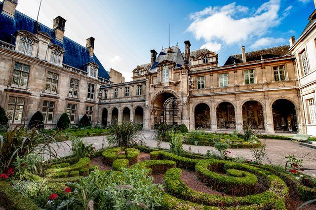 Le jardin du Musée Carnavalet