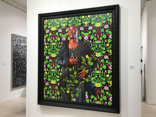 Kehinde Wiley, Elisabeth of France, queen of Spain, Galerie Daniel Templon