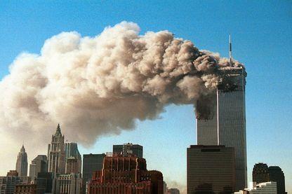 Les twin towers le 11 septembre 2001