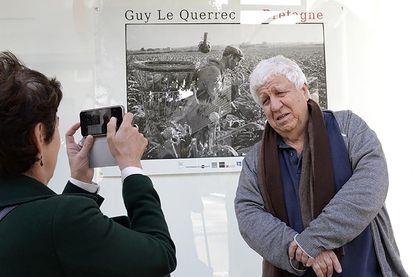 Guy Le Querrec avec Brigitte Patient