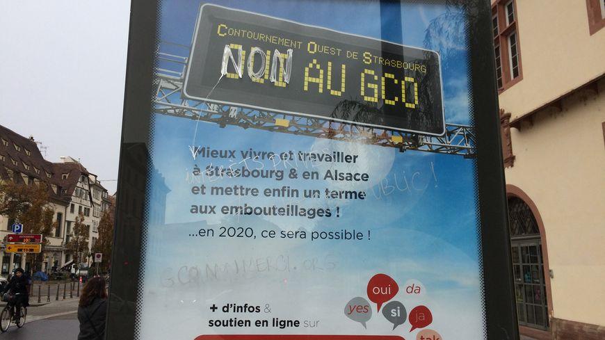Grand contournement ouest de strasbourg la guerre des affiches - Chambre du commerce strasbourg ...