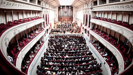 La Grande salle de concert du Conservatoire Royal de Bruxelles. © Conservatoire Royal de Bruxelles