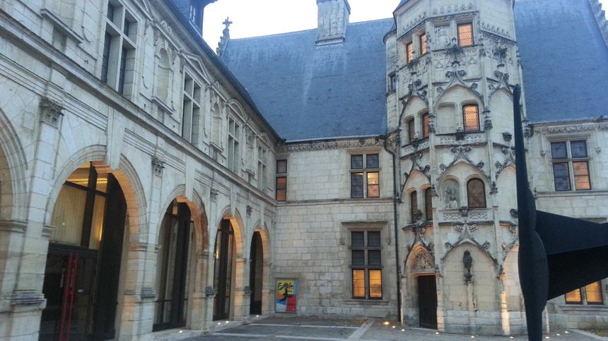 Le musée Estève, près de l'école supérieure d'art de Bourges.