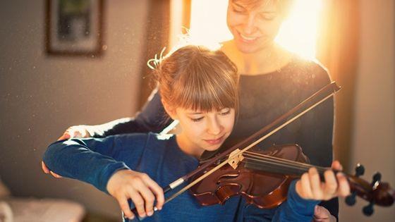 Enfant au violon