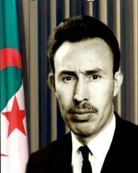 Le président Houari Boumédiène