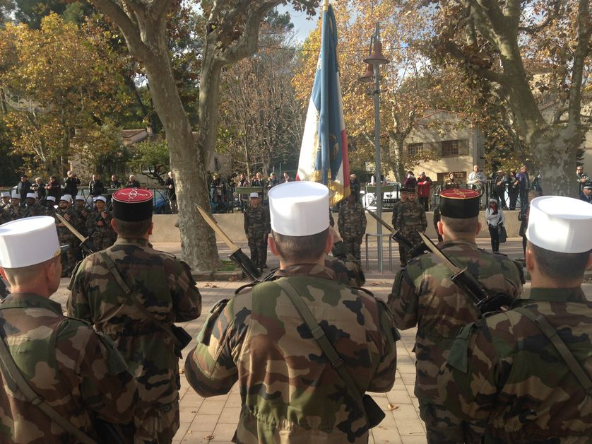Exercice militaire à Simiane-Collongue