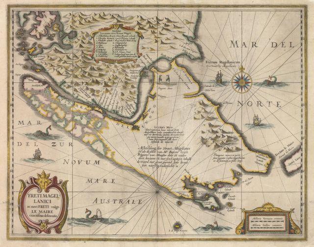 Détroit de Magellan (vers 1630)