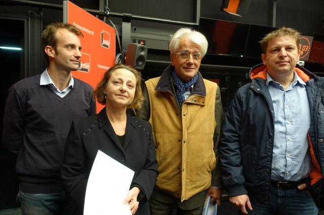 Alexandre Lacroix, Nicole-Marie Meyer, Pascal Perrineau et Raphaël Halet