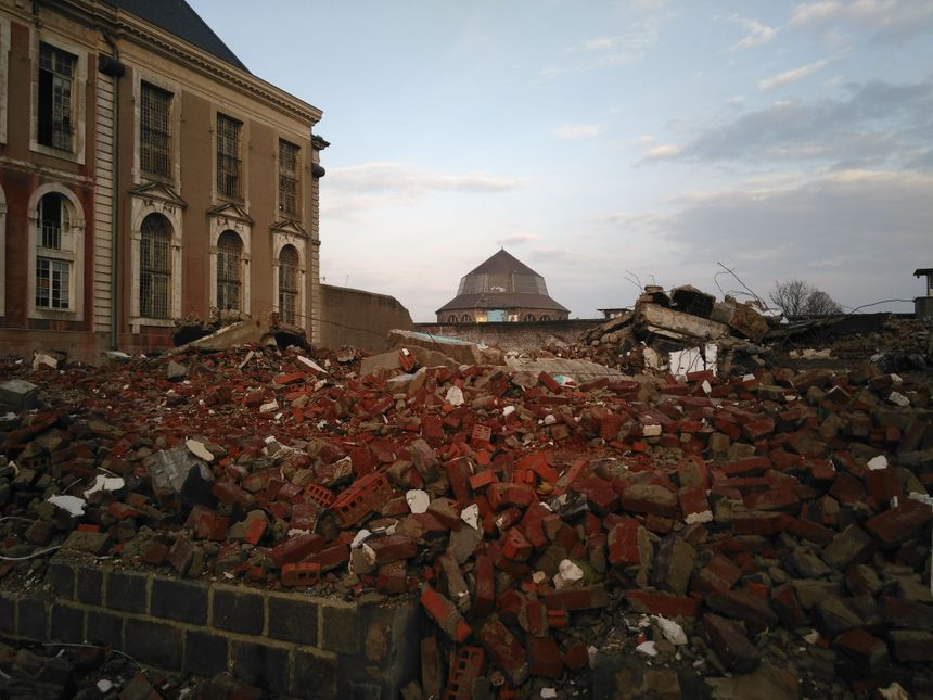 Les bâtiments de l'abbaye seront préservés