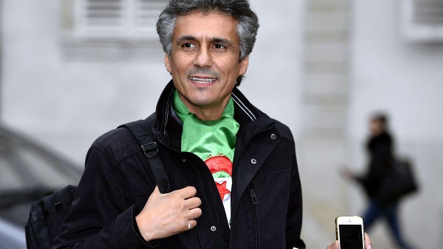 L'opposant algérien Rachid Nekkaz
