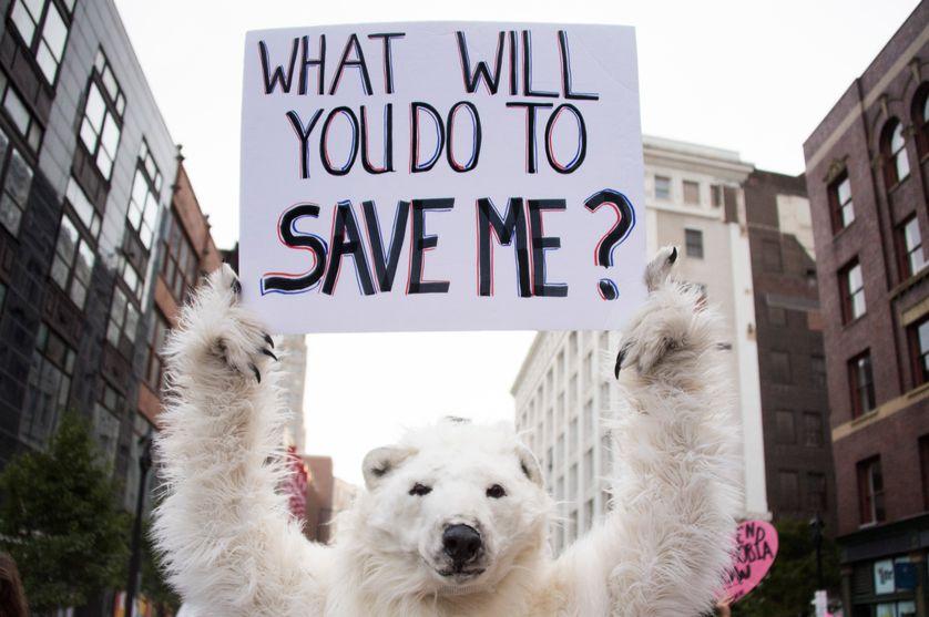"""Donald Trump : """"Je vais annuler l'accord de Paris sur le climat."""""""