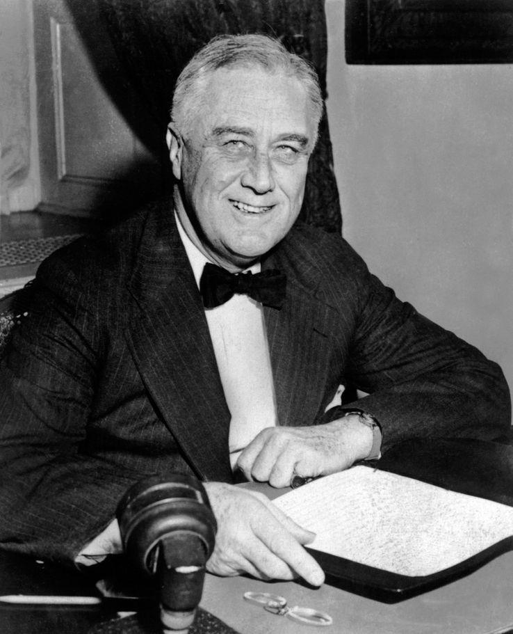 Portrait de Franklin Delano Roosevelt