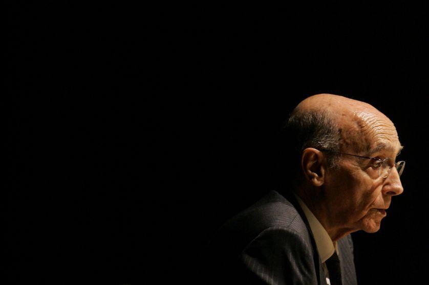 José Saramago à Sao Paulo en 2008.