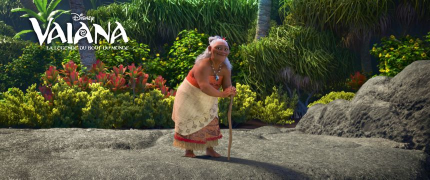 La grand-mère de Vaiana