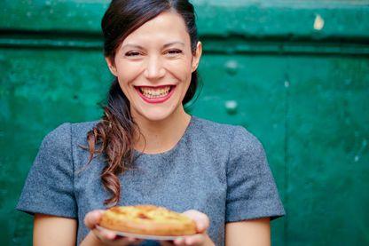 """Eleonora Galasso, co-auteur du livre """"A la romaine : Cuisine de la Dolce Vita"""""""