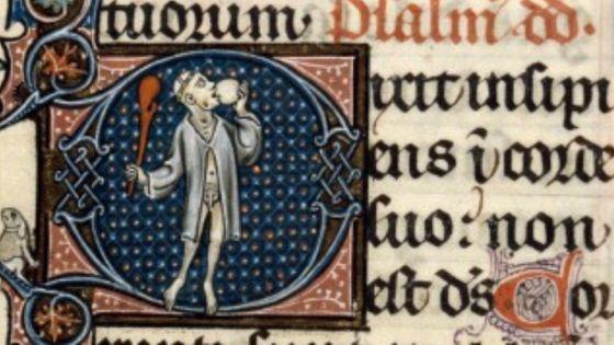 BM Dijon, ms. 113, f° 4, Bréviaire de Saint Bénigne, début XIVe s.