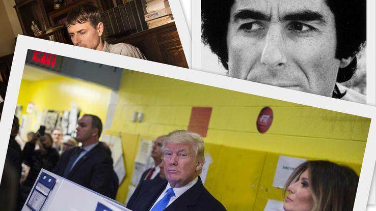 Wim Wenders, Philip Roth et Donald Trump.