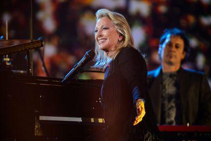 Véronique Sanson lors de la 31ème cérémonie des Victoires de la musique au Zénith de Paris, le  le 21 Octobre 2006 à Paris.