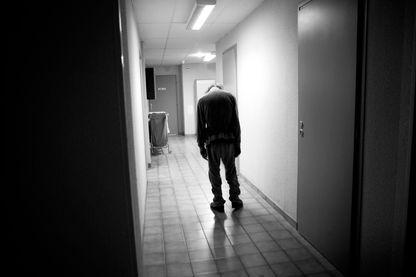 Unité Psychiatrique dans un hôpital français