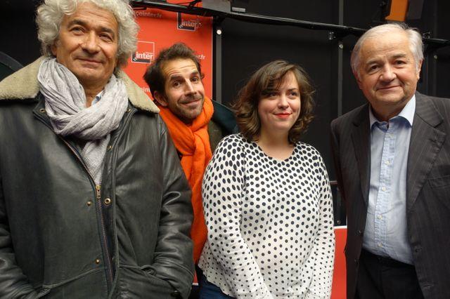 François L'Yvonnet, Jul, Louison et Jacques Mailhot