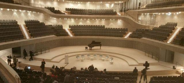 Une grande salle de 2.100 places pour la philharmonie de Hambourg