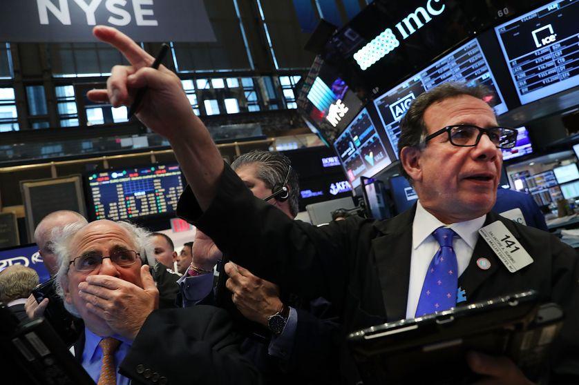 NYSE, la bourse de New York, le lendemain de l'élection de Donal Trump