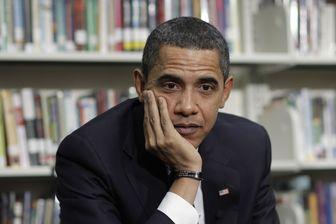 Moment de flottement pour le président américain Barack Obama