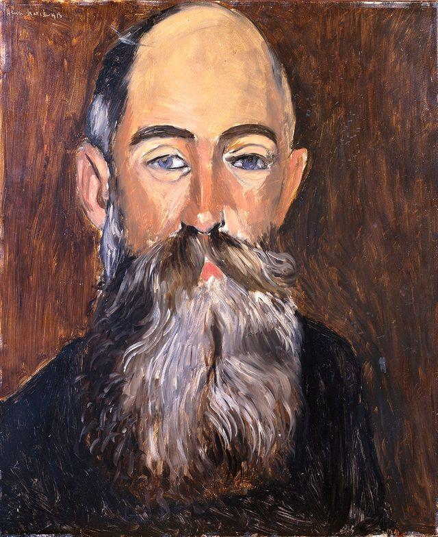 Henri Matisse L'Antiquaire Georges-Joseph Delmotte Musée des beaux arts de Lyon