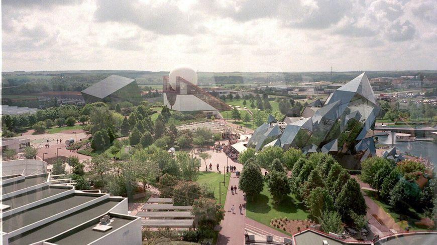 La future salle Arena sera construite sur la zone du Futuroscope