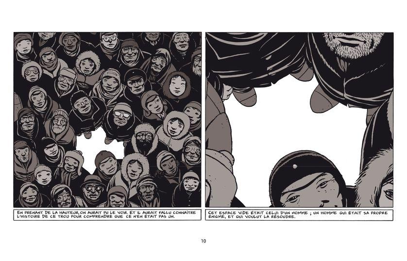 """""""Otto, l'homme réécrit"""" de Marc-Antoine Mathieu"""