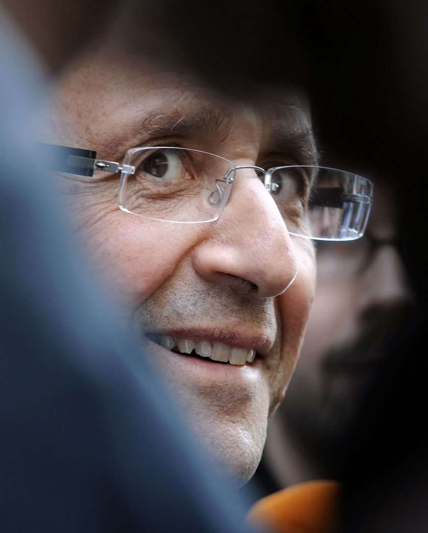"""""""La presse de gauche ne soutient pas la gauche"""" regrette François Hollande."""