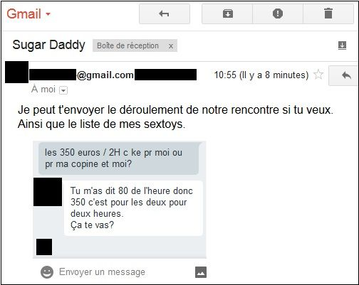 Sugar Daddy datant gratuitement