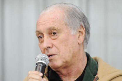 Jean-François Delfraissy, lors de la simulation d'alerte du virus Ebola, 12 février 2015 - Nogent le Rotrou