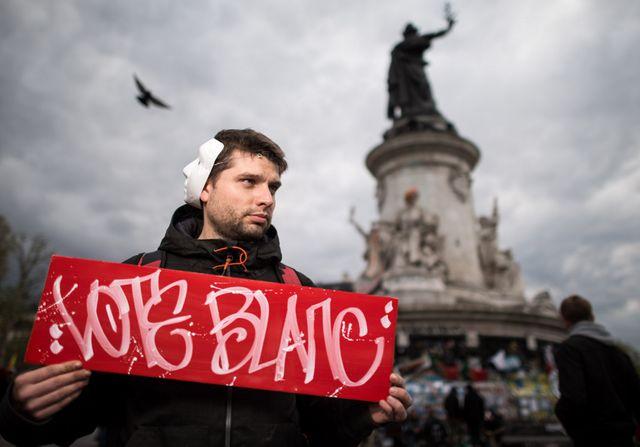 Sur le site Nuit Debout, l'un des thèmes de réflexion, sur le vote blanc et sa prise en compte