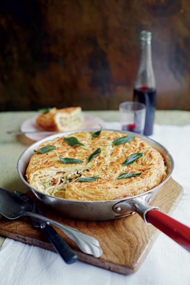 Frittata, recette tirée de À la romaine : Cuisine de la Dolce Vita