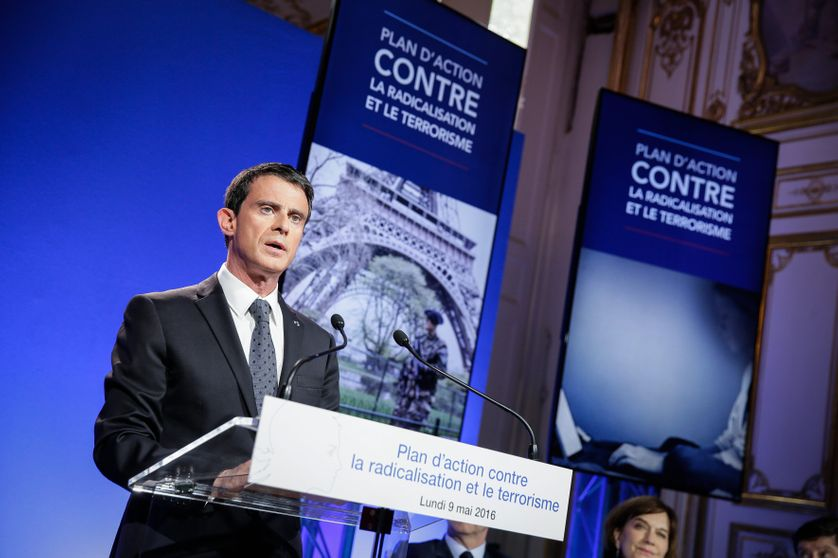 Conférence de presse de Manuel Valls le 9 mai dernier