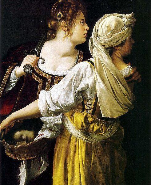 Judith et sa servante, vers 1618-1619, Palais Pitti, Florence