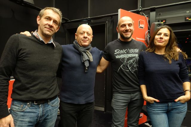 Philippe Toinard, Thierry Marx, Mathieu Jean-Toscani et Marion Festraëts