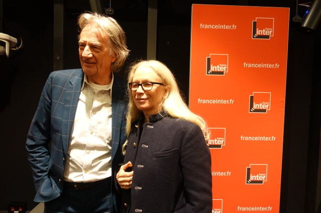Paul Smith et Dominique Issermann